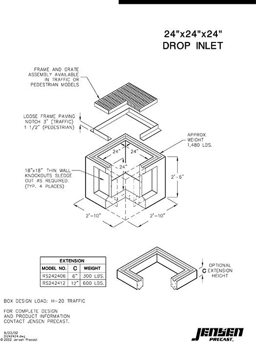 Drainage Inlet Box Detail Pictures To Pin On Pinterest