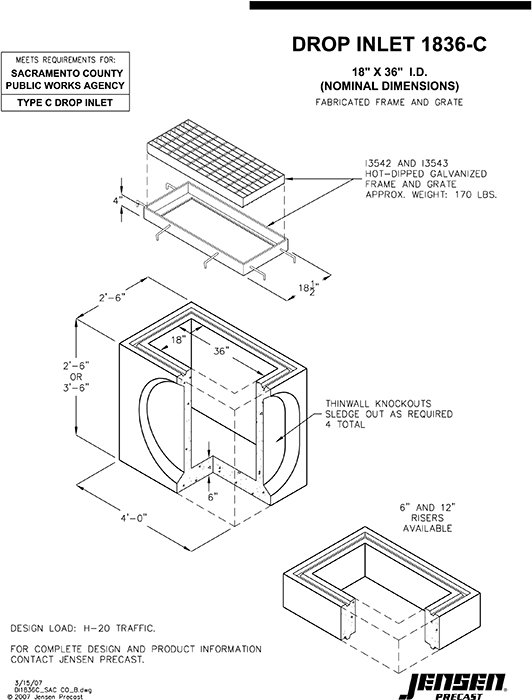 Types of storm inlets pictures to pin on pinterest pinsdaddy for Types of drainage
