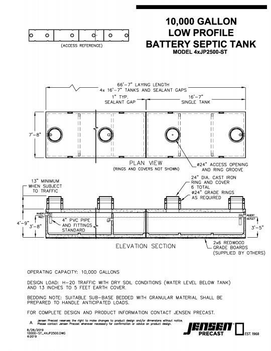 Jensen Precast - Septic & Wastewater Systems - Commercial