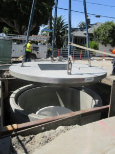 Jensen Water Resources JDS Hydrodynamic Separator Installation