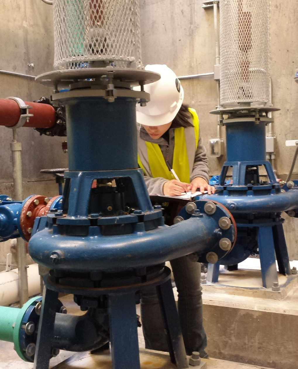 Jensen Water Resources performs startup services on a large pump station installation