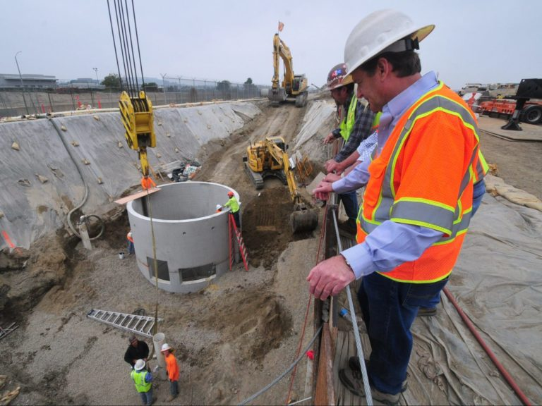 Certified JDS stormwater treatment bmp for full trash capture installed in California
