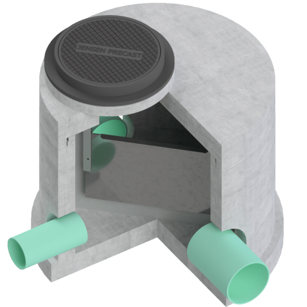 Stormwater Diversion Manhole Assembly